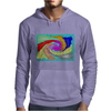 Colorful Abstract Art Mens Hoodie