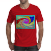 Colorful Abstract Art Mens T-Shirt