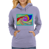 Colorful Abstract Art Womens Hoodie