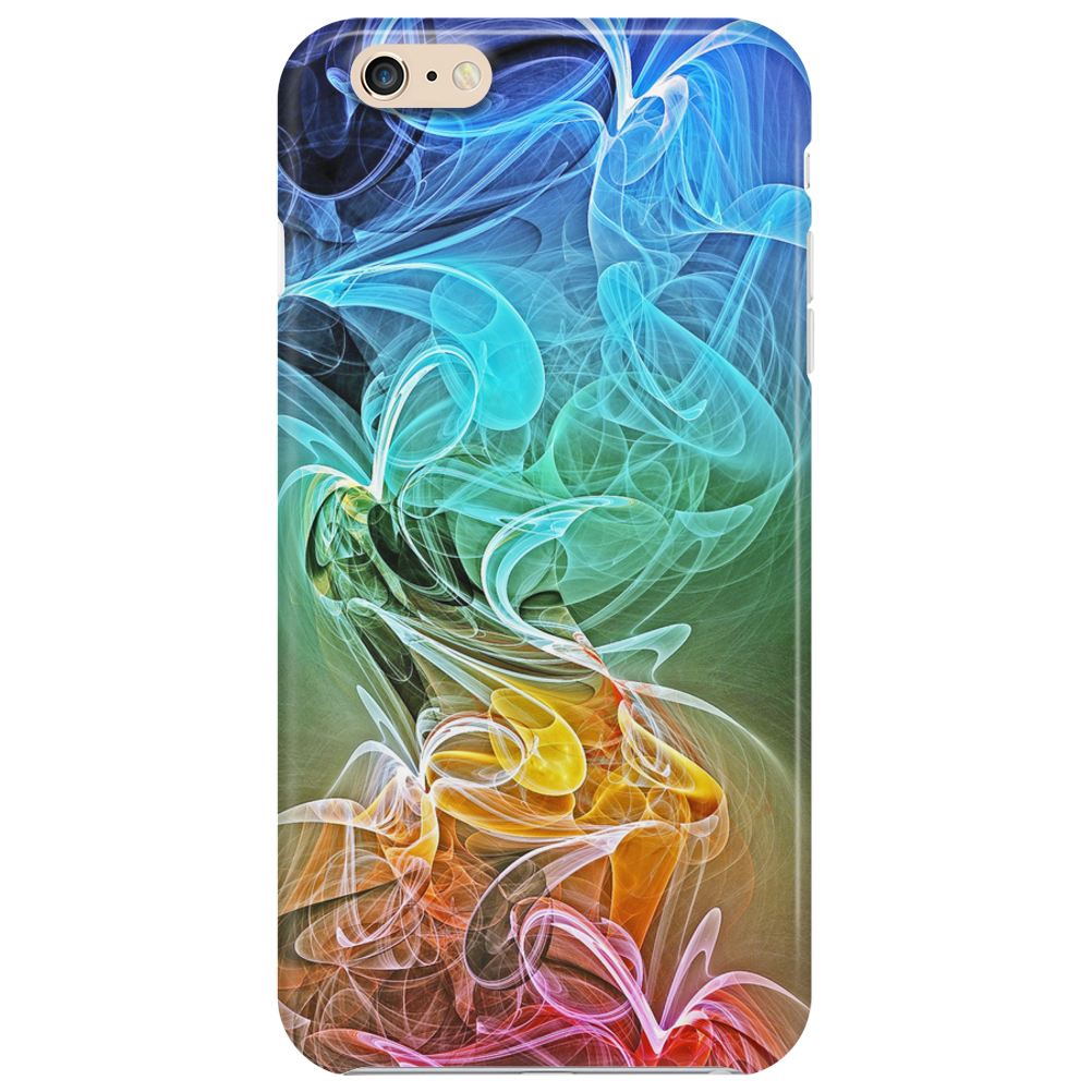 Colorful Abstract Smoke Phone Case