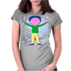 Colorful Boy Womens Fitted T-Shirt