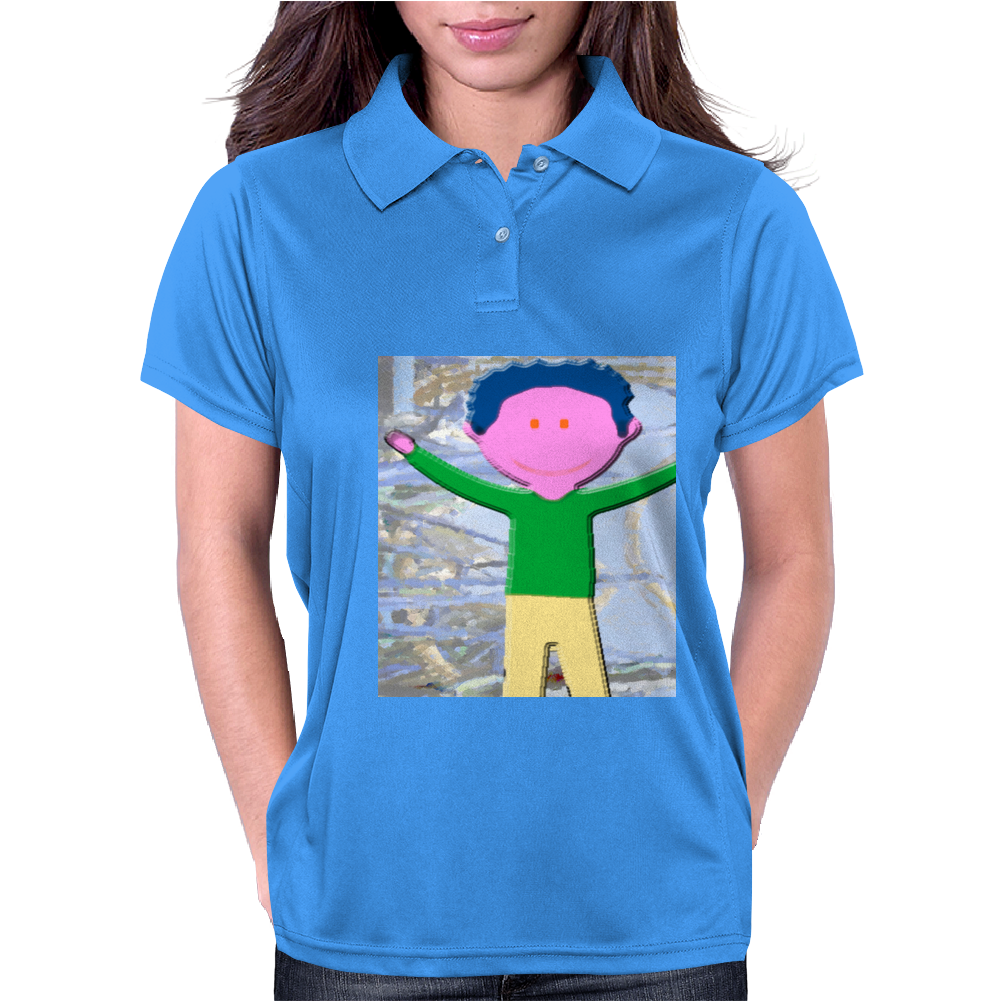 Colorful Boy Womens Polo