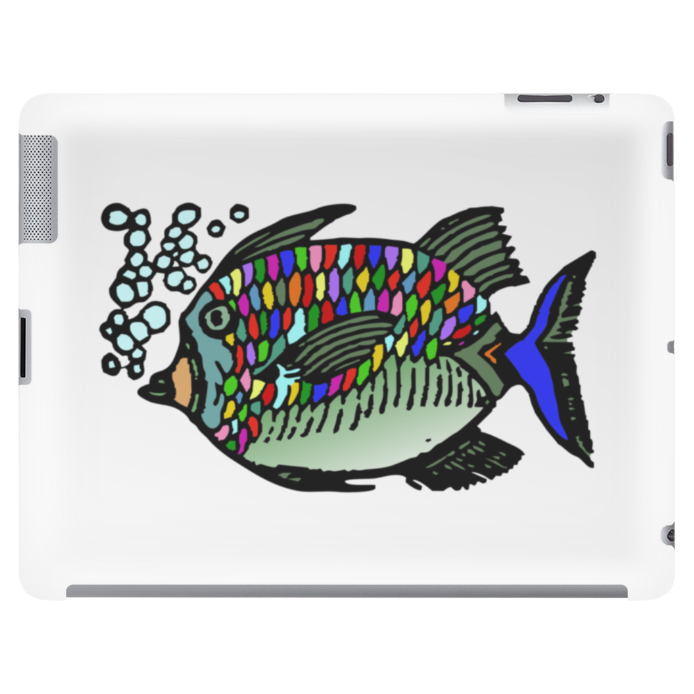 colorful fish Tablet (horizontal)