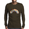 Colorful life Mens Long Sleeve T-Shirt