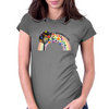 Colorful life Womens Fitted T-Shirt
