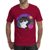 Colorful Mojo Cat Mens T-Shirt