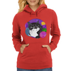 Colorful Mojo Cat Womens Hoodie