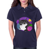 Colorful Mojo Cat Womens Polo