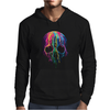 Colorful Painted Trippy Gothic Melting Mens Hoodie