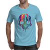 Colorful Painted Trippy Gothic Melting Mens T-Shirt