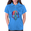 Colorful Painted Trippy Gothic Melting Womens Polo