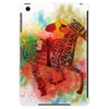 Colorful Racehorse in Typography Tablet (vertical)