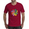 Colorful spiral Mens T-Shirt