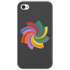Colorful spiral Phone Case