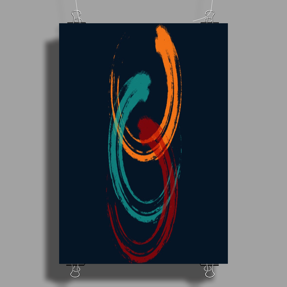 Coloring Brush Poster Print (Portrait)