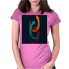 Coloring Brush Womens Fitted T-Shirt