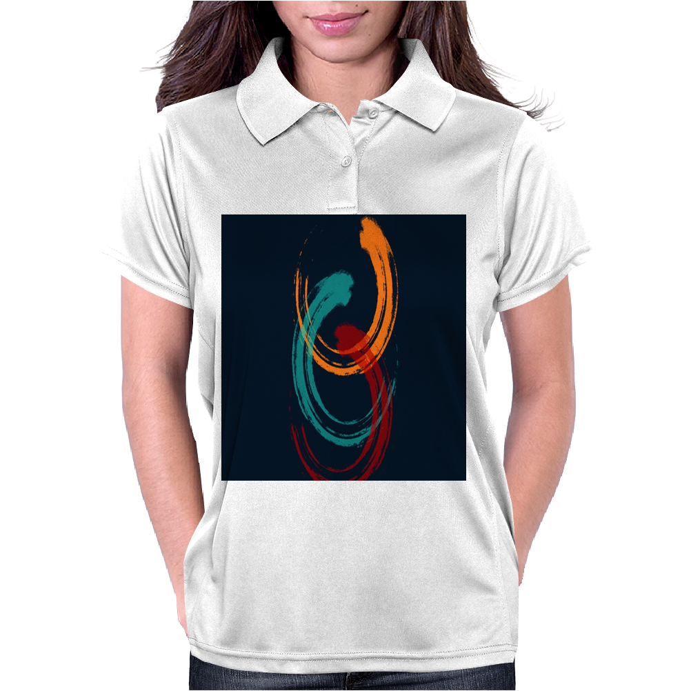 Coloring Brush Womens Polo