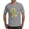 colours of summer flowers summer love butterflies butterfly Mens T-Shirt