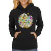 colours of summer flowers summer love butterflies butterfly Womens Hoodie