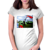 COME FLY WITH ME Womens Fitted T-Shirt