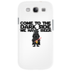 Come To The Dark Side We Have Beer - Star Wars - Graphic - Darth Vader Graphic Phone Case