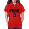 Come To The Dark Side We Have Beer - Star Wars - Graphic - Darth Vader Graphic Womens Polo