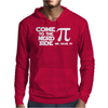 Come To The Nerd Side We Have Pi Mens Hoodie