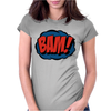 Comic Bam Womens Fitted T-Shirt