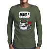 Communistische Cat Mens Long Sleeve T-Shirt