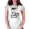 Communistische Cat Womens Fitted T-Shirt
