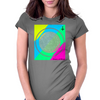 compass of atlantis Womens Fitted T-Shirt