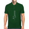 Computer Circuit Board Mens Polo