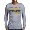 Computer Games - gold / blk Mens Long Sleeve T-Shirt