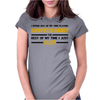 Computer Games - gold / blk Womens Fitted T-Shirt