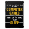 Computer Games - gold / wht Tablet