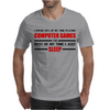Computer Games - red / blk Mens T-Shirt
