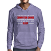 Computer Games - red / wht Mens Hoodie