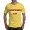 Computer Games - red / wht Mens T-Shirt