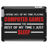 Computer Games - red / wht Tablet