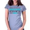 Computer Gaming - aqua / blk Womens Fitted T-Shirt