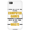 Computer Gaming - gold / blk Phone Case