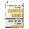 Computer Gaming - gold / blk Tablet