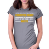 Computer Gaming - Gold / Wht Womens Fitted T-Shirt