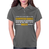Computer Gaming - Gold / Wht Womens Polo
