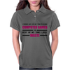 Computer Gaming - Maroon / blk Womens Polo