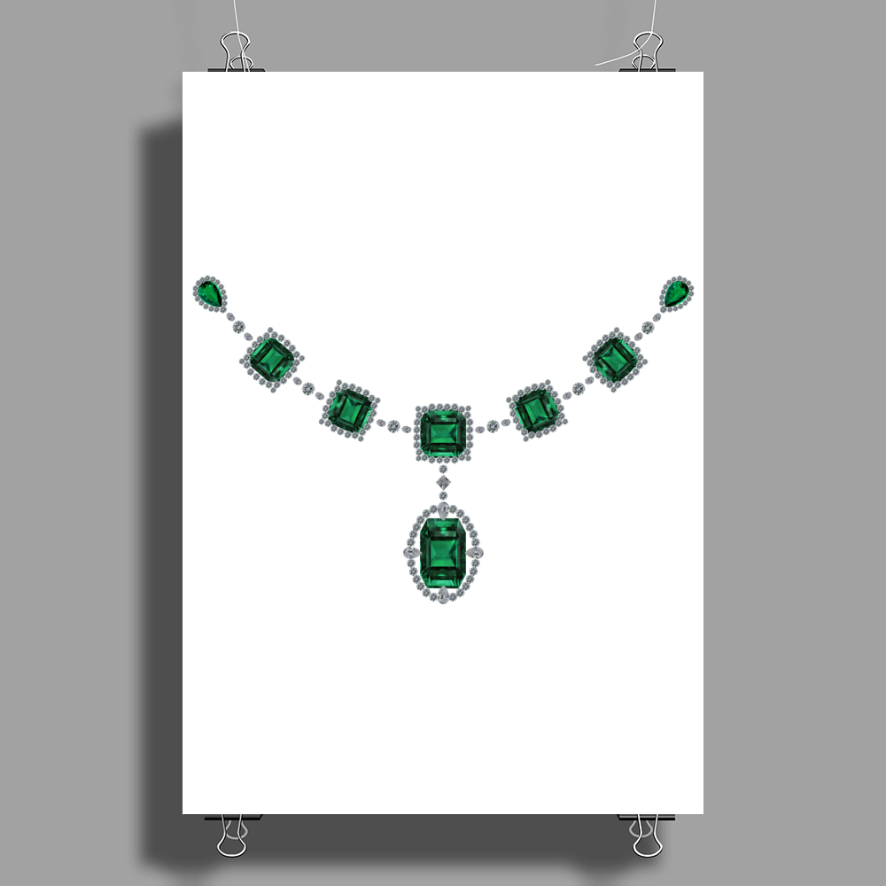 Comstock Emeralds Poster Print (Portrait)