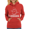 Condoms are for pussies Womens Hoodie