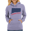 CONNECTICUT Womens Hoodie