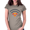 Connecting Heart Womens Fitted T-Shirt