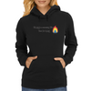 Consuming Fire Womens Hoodie